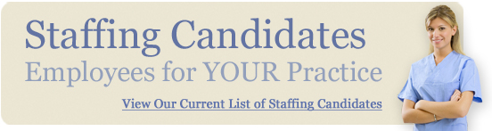View our current list of staffing candidates